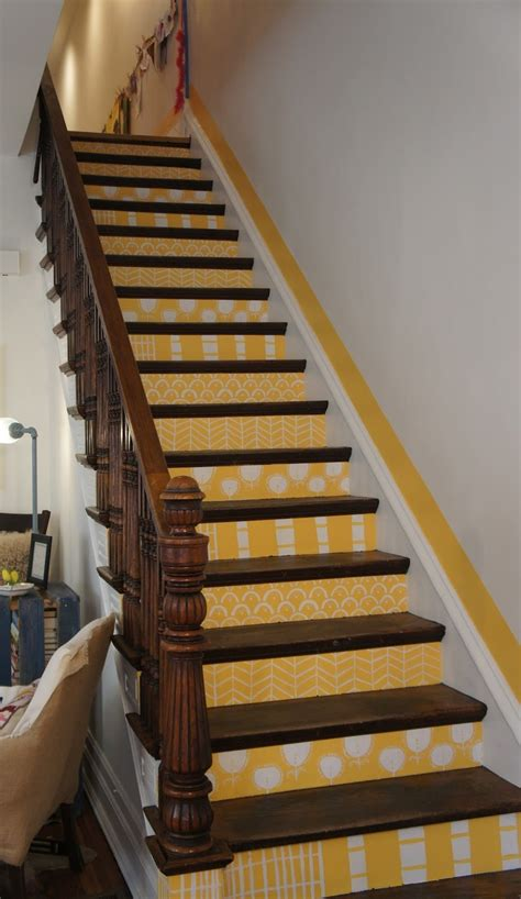 Ways Spruce Staircase by 21 Best Stencilled Stairs Images On Paint