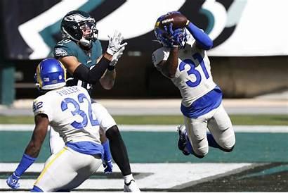 Rams Eagles Williams Darious Philadelphia Carson Wentz