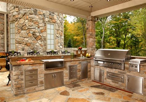 outdoor kitchen island designs ideas design trends