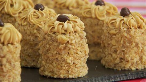 marys mini coffee  walnut cakes recipe bakery