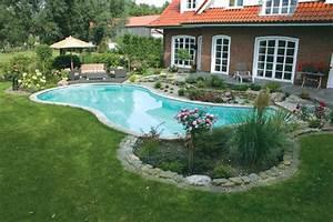 Gartenanlage Mit Pool : formvollendet schwimmbad zu ~ Sanjose-hotels-ca.com Haus und Dekorationen