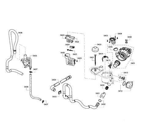 bosch model shearuc dishwasher genuine parts