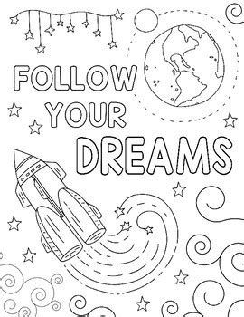 outer space coloring pages kindness themed