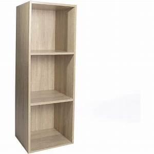 meuble de rangement modulo 3 cases 32 x 30 x 94cm pas cher With meuble 9 cases blanc 15 bibliothaque et etagare pas cher but fr