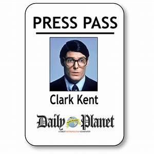 clark kent press pass printable wwwpixsharkcom With press pass request template