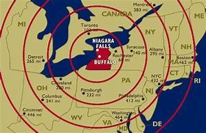 Map Nuclear Blast Radius