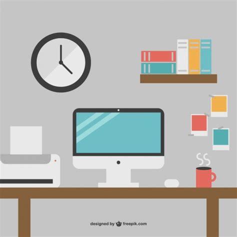bureau gratuit minimaliste bureau de bureau graphiques gratuits