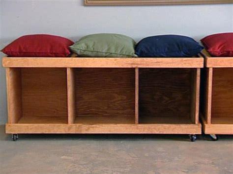 diy storage bench  adding extra storage  seating home  gardening ideas home design