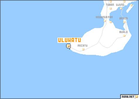 uluwatu indonesia map nonanet