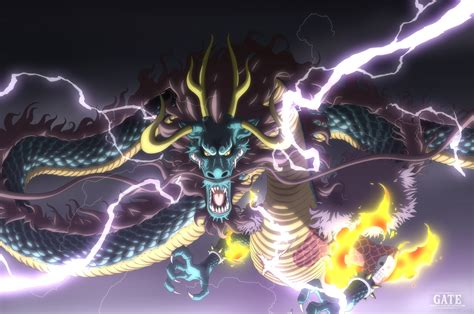 kaido dragon form hd wallpaper background image