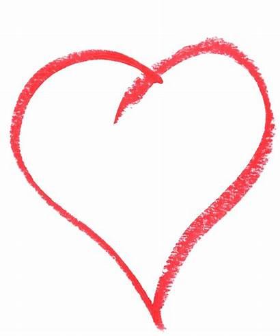 Heart Sketching Ribbon Clipart Chalk