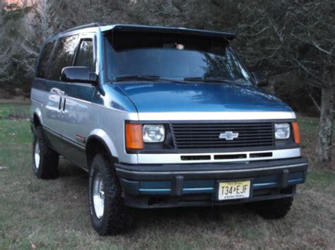 1992 Chevrolet Astro Van 4x4 For Sale Photos, Technical