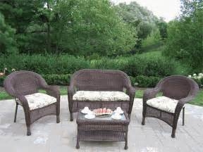 Resin Garden Furniture Sets Photo