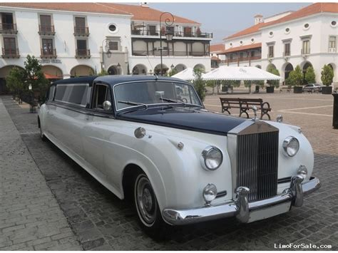 Classic Limo by Used 1959 Rolls Royce Silver Cloud Antique Classic Limo