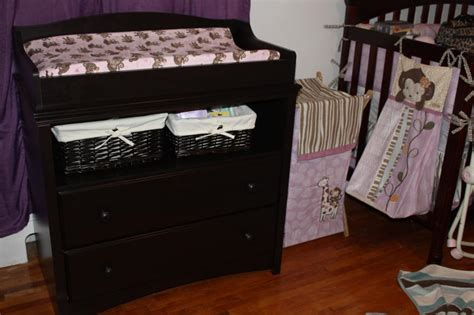dark wood changing table cheap cherry wood changing table desjar interior