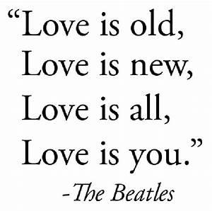 Beatles Love Lyrics - Gagthat!