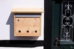 Briefkasten Aus Holz : briefkasten l rchenholz nachhaltiges aus sozialen manufakturen ~ Udekor.club Haus und Dekorationen