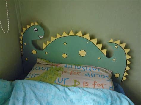 dinosaur headboard     sons bedroom elijah