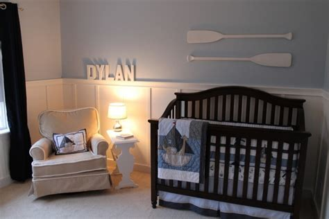 papier peint pour chambre gar輟n chambre bébé garçon de style nautique en 23 belles photos
