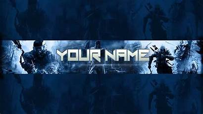 Banner Gaming Template Photoshop Channel Psd Games