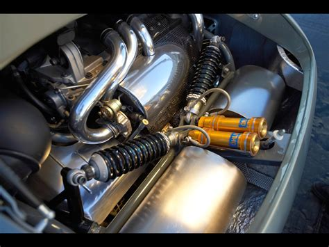 2005 Volvo T6 Roadster Hot Rod Concept Engine