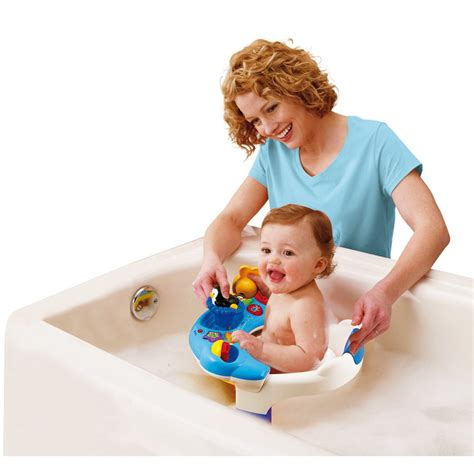 bain siege siège de bain interactif vtech jouets 1er âge jouets