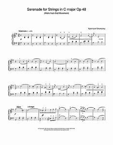 Serenade for Strings in C major Op.48 sheet music by Pyotr ...
