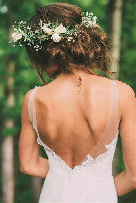 25 Best Ideas About Flower Crown Hair On Pinterest