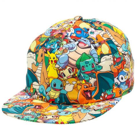 pokemon all over sublimated characters hat superheroden com