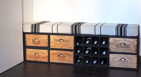caisse en bois vin mzaol