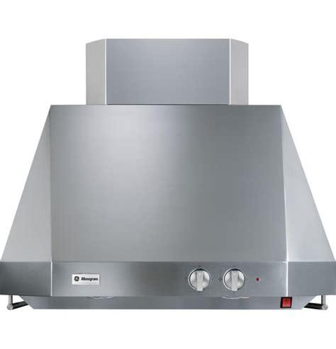 ge monogram  stainless steel professional hood zvtsfss ge appliances