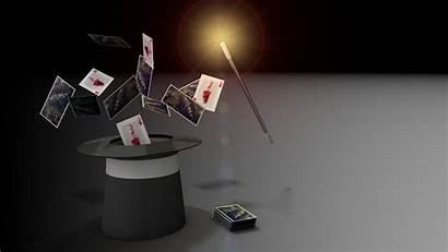 Magic Magician Cards Magicians Tricks Wallpapers Backgrounds