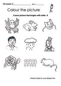 color  picture  begins  letter  beginning