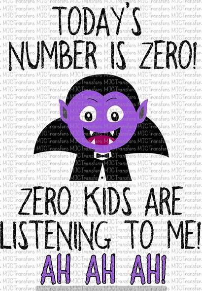 Zero Listening Ah Number Today Sublimation Subl