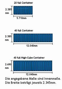 20 Fuß Container In Meter : umzugscontainer ~ Frokenaadalensverden.com Haus und Dekorationen