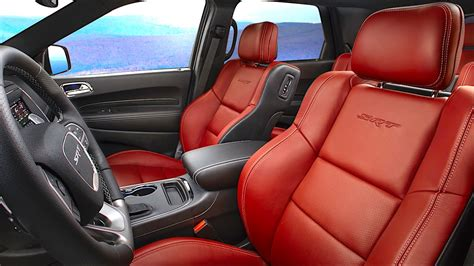 dodge durango srt interior deluxe   price