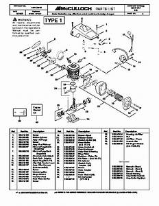 Mac 3200 Chainsaw Parts Diagram