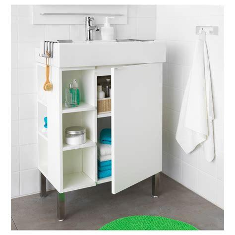 Ikea Badmöbel Lillangen ikea lill 197 ngen bathroom vanity 1 door 2 end units white