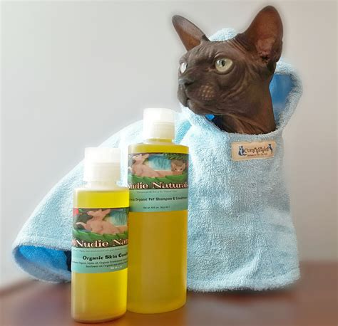 Nudie Naturals Organic Hairless Pet Skin Care Lilnudists
