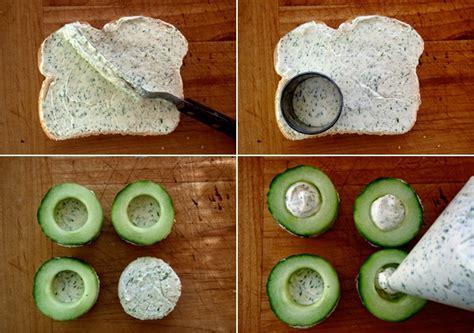 bread canape recipes cucumber dill canapé recipe weekend recipes