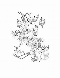 Mower Deck Diagram  U0026 Parts List For Model 917273100