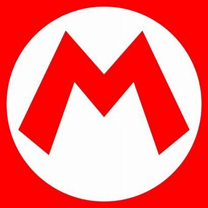 Svg Mario Emblem Wikimedia Commons
