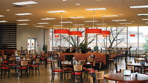 student center cafeteria caldwell university  jersey