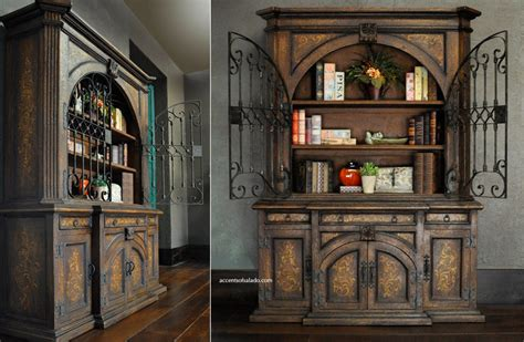 world dining room furniture  vineyard hutch