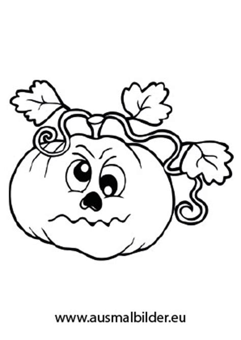 Halloween Kürbis  Halloween ausdrucken