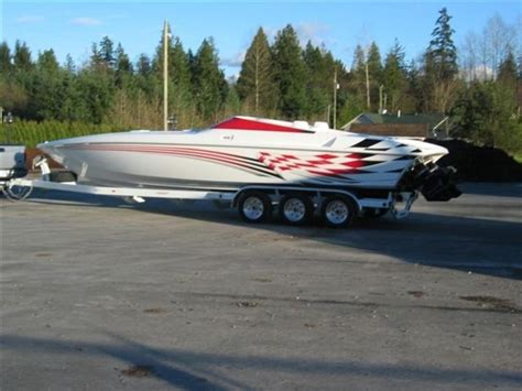 Boat Wraps Kelowna by 2000 Sunsation Dominator Powerboat For Sale In