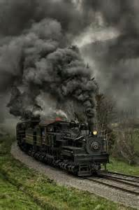 Steam Locomotive Coal Trains