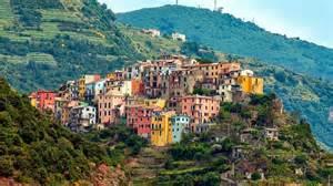 Les Cinq Terres En Italie Carte by Les Cinq Villages Cinque Terre Italie