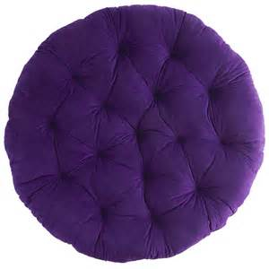 plush plum papasan cushion pier 1 imports