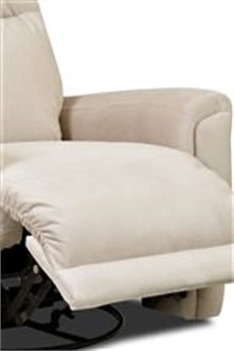 klaussner priest transitional swivel rocking reclining
